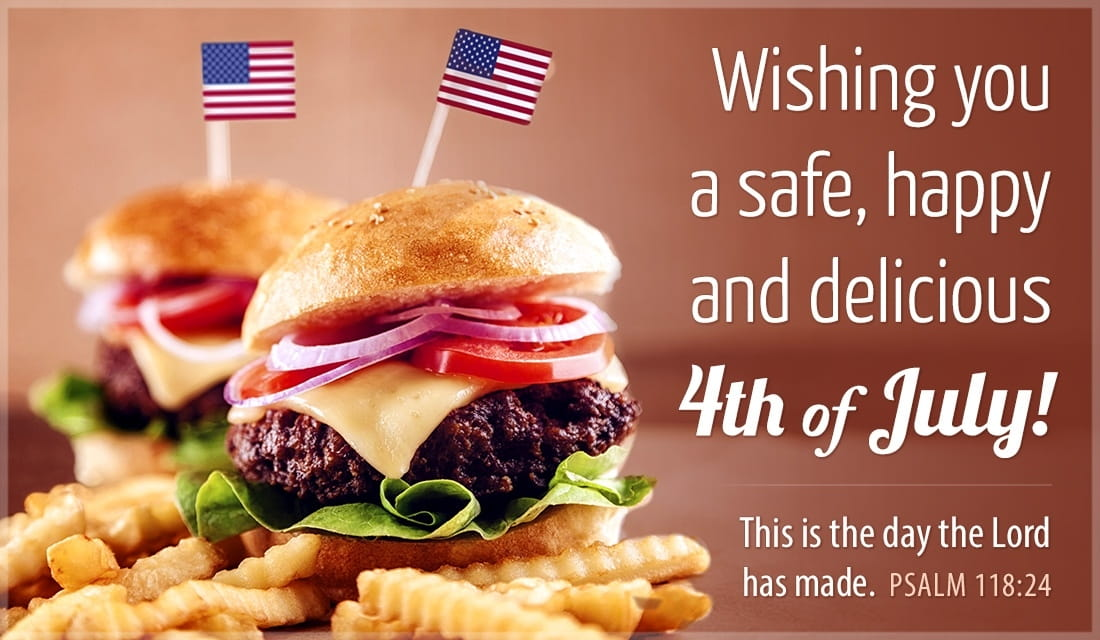 Wishing You Delicious 4th of July ecard, online card