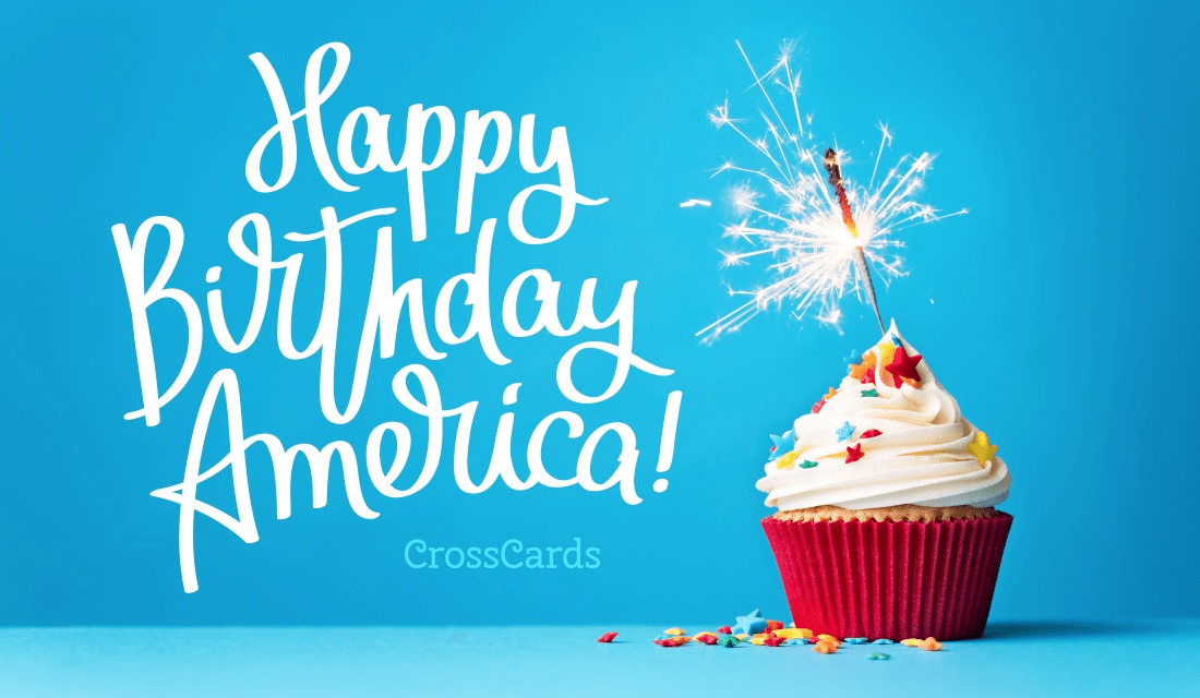 Happy Birthday America Ecard Free Independence Day Cards Online