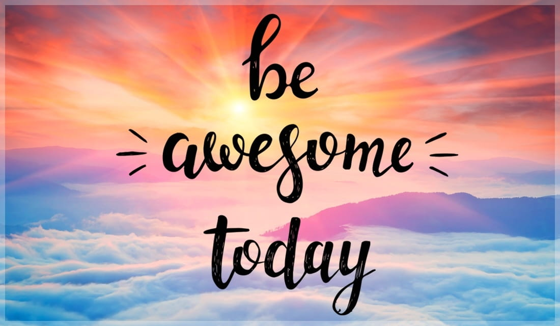 Be Awesome Today ecard, online card