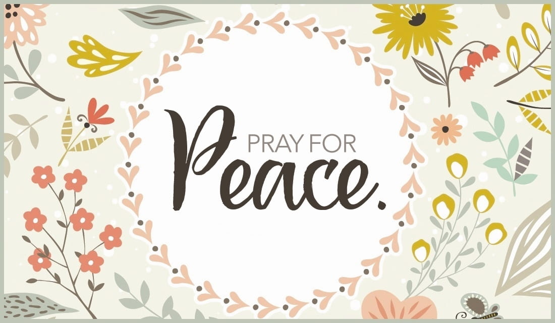 Pray for Peace ecard, online card