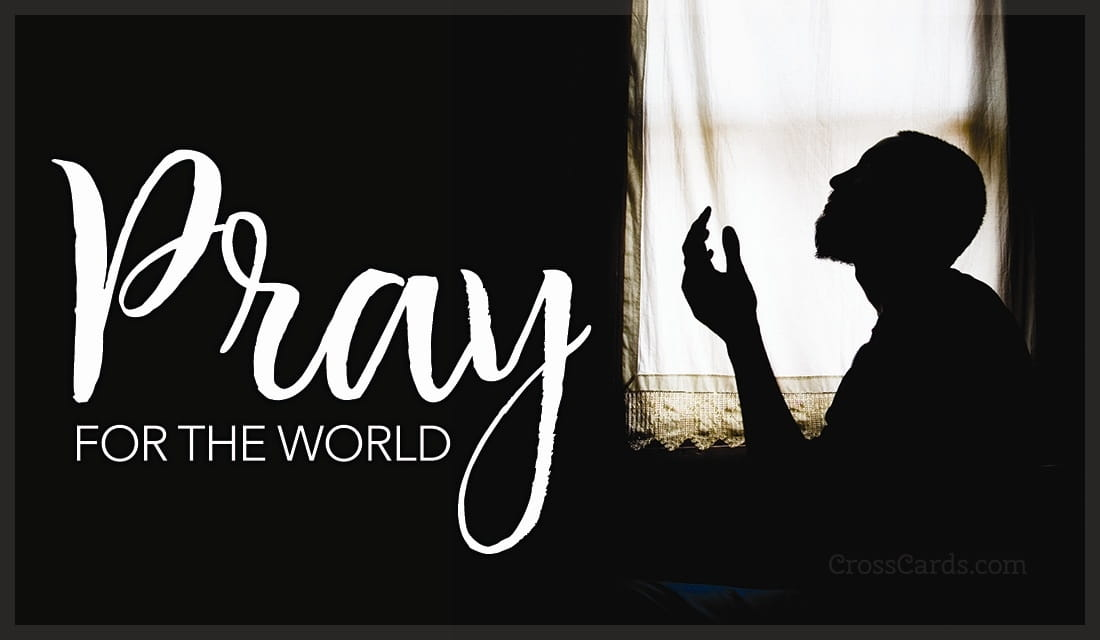 Pray for the World ecard, online card