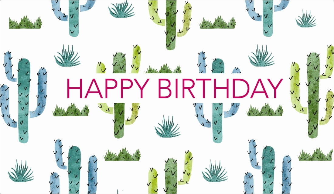 Happy Birthday ecard, online card
