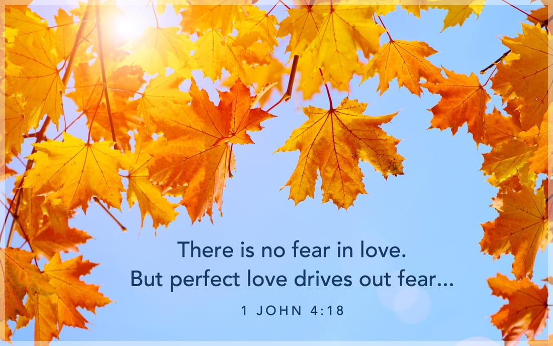 1 John 4:18 - Perfect Love ecard, online card