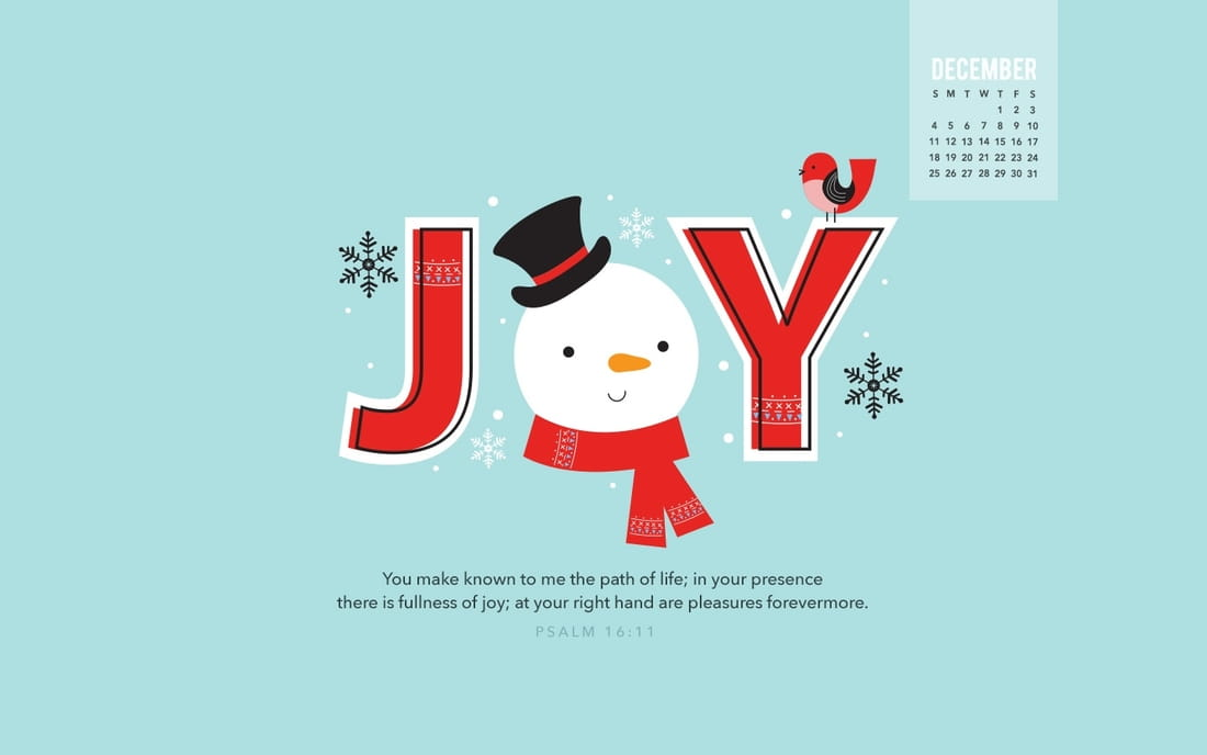 December 2016 - Joy mobile phone wallpaper