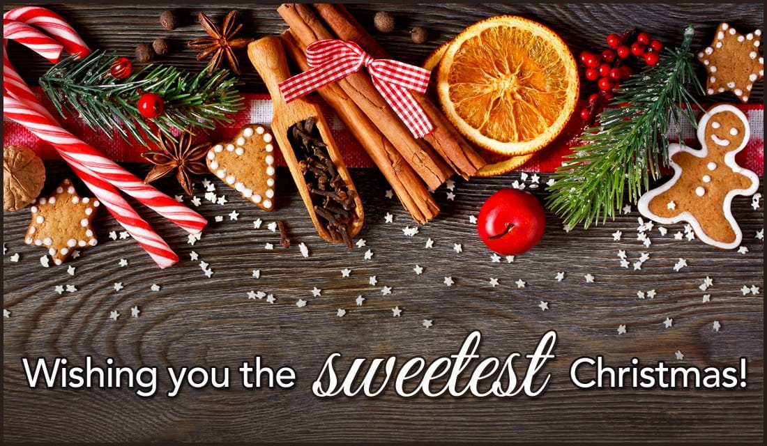 The Sweetest Christmas.Wishing You The Sweetest Christmas Ecard Free Christmas