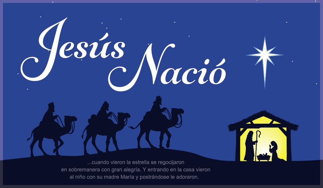 Jesús Nació ecard, online card