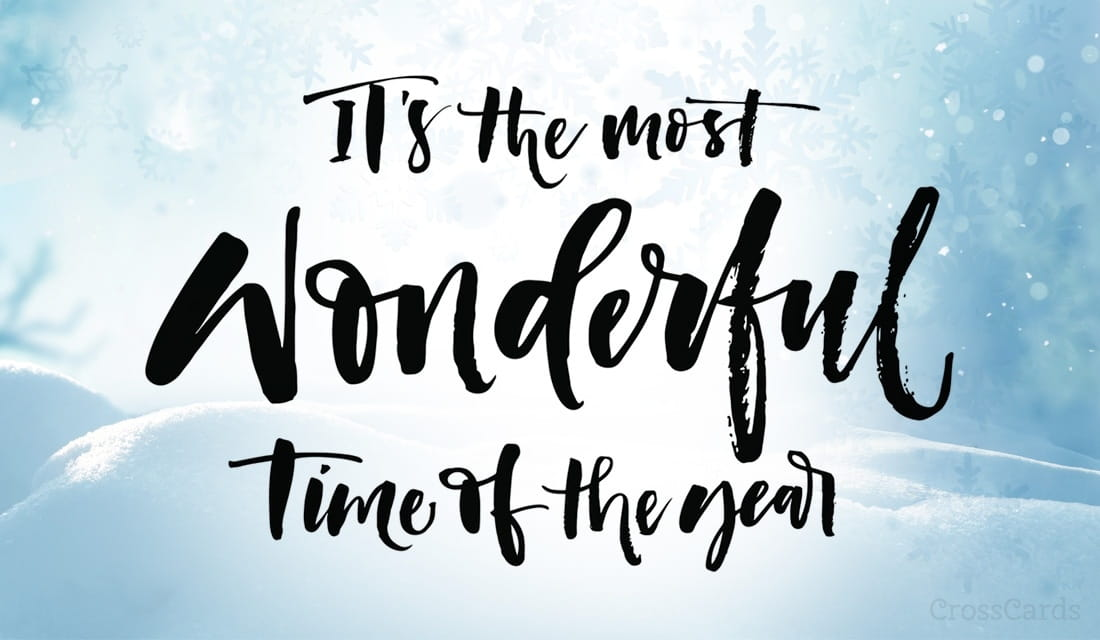 It's the Most Wonderful Time of the Year ecard, online card
