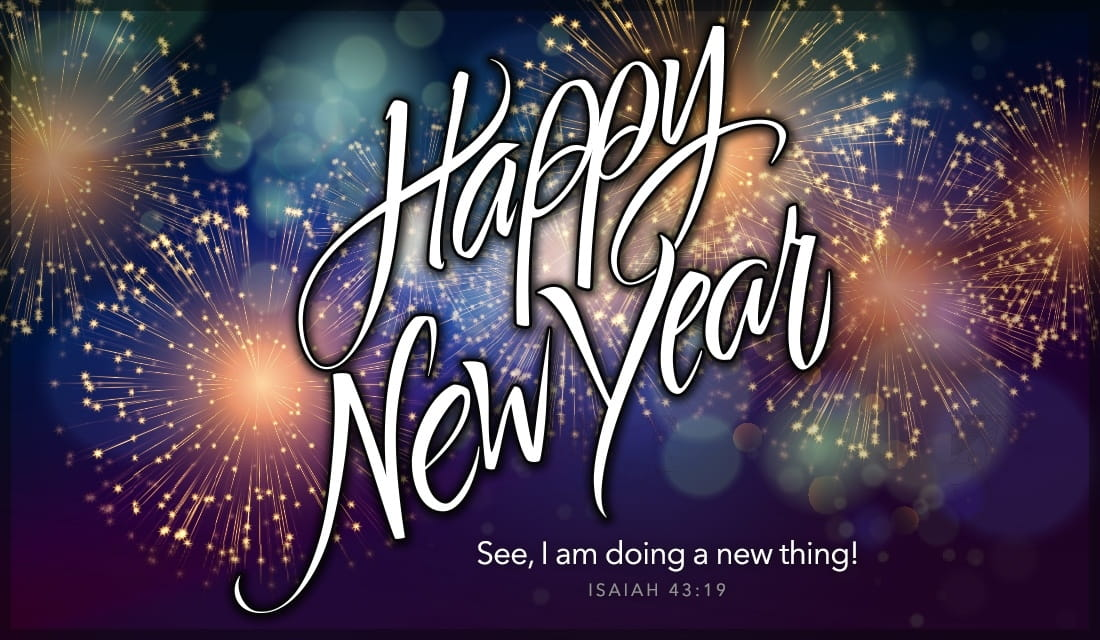 happy new year doing a new thing ecard online card