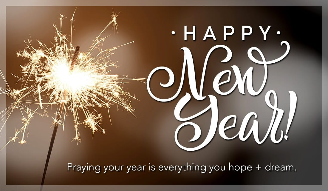 Praying your year is everything you hope and dream ecard, online card