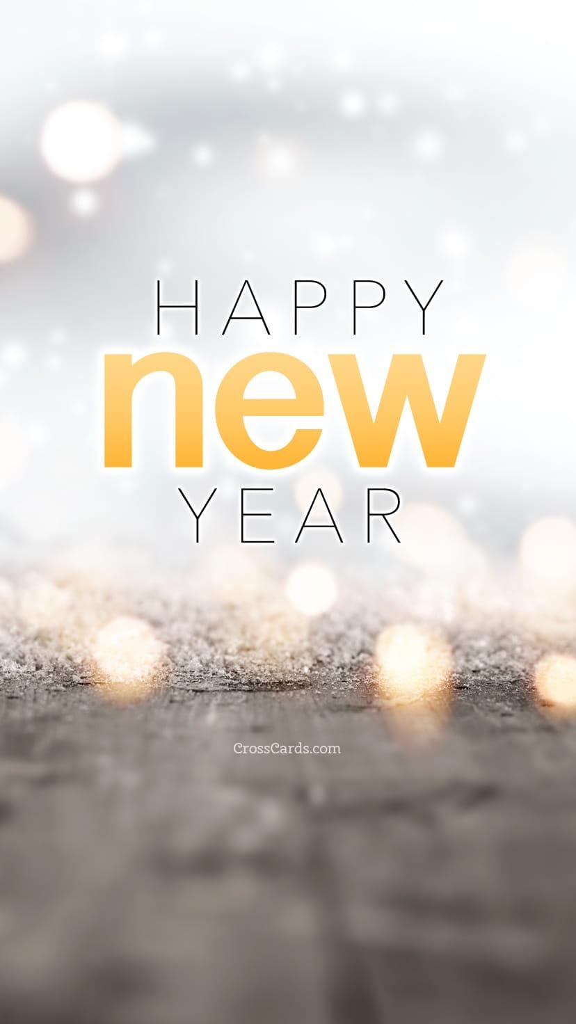 Happy New Year Desktop Calendar Free January Wallpaper