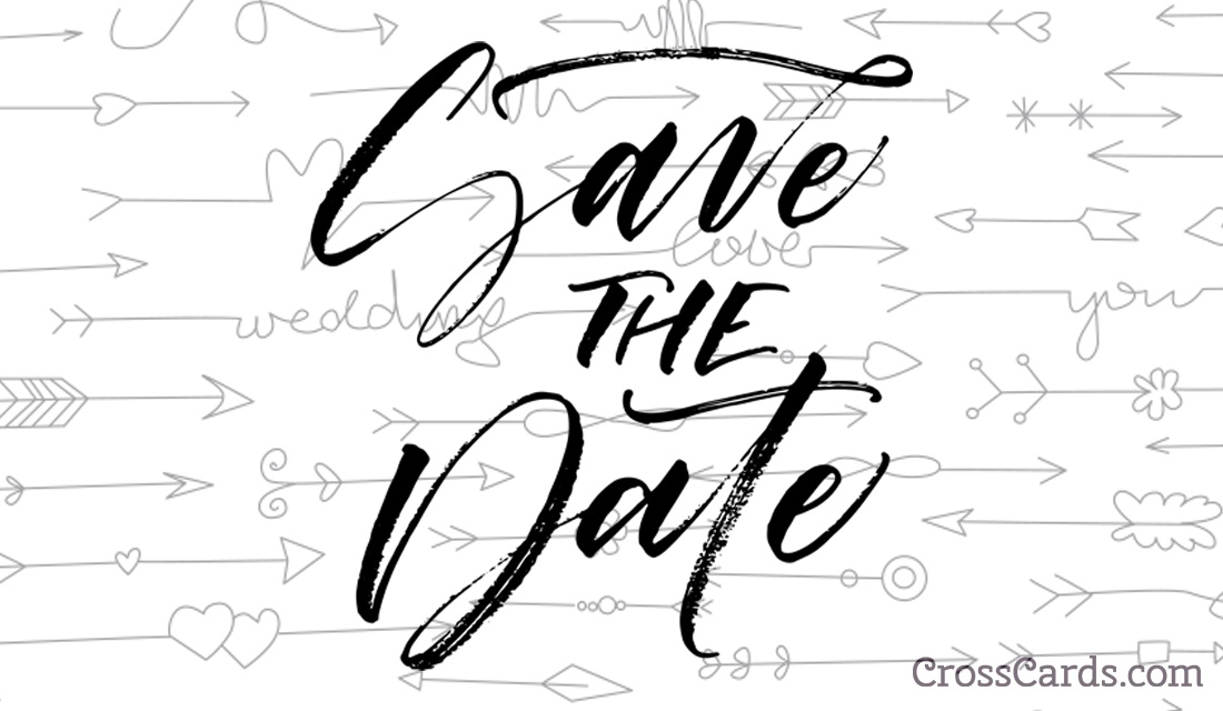 Save the Date!  ecard, online card