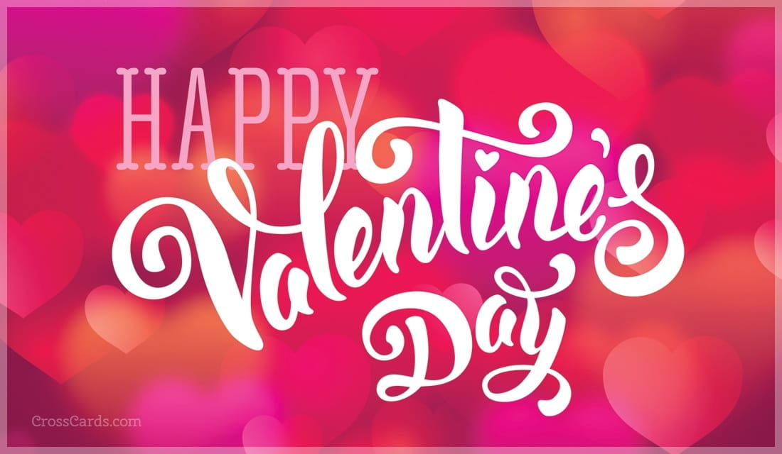 Happy Valentine's Day ecard, online card