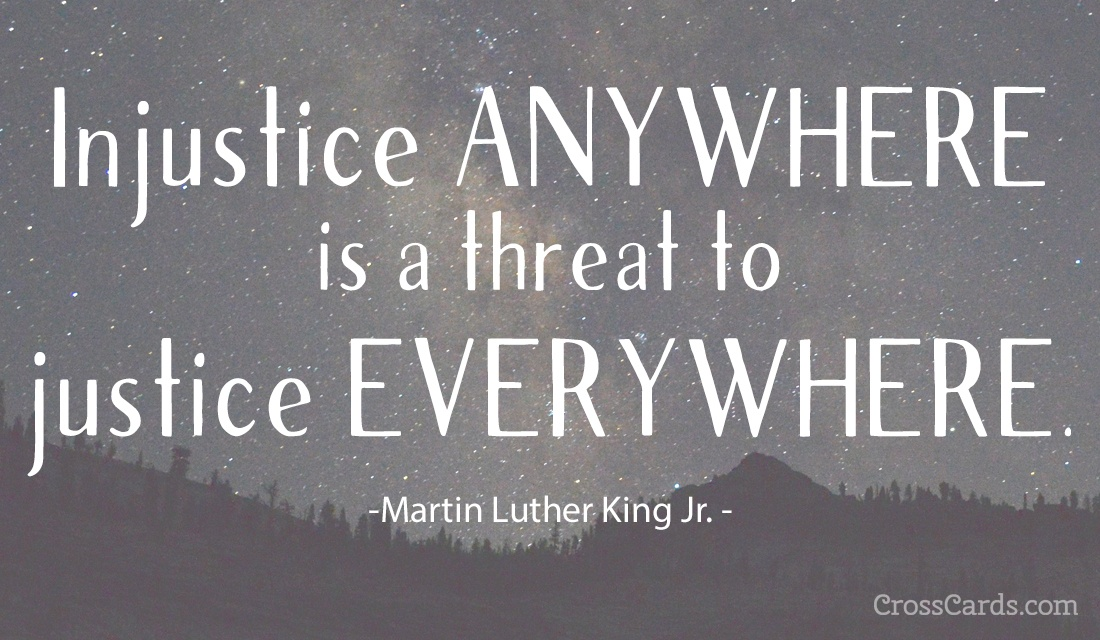 Martin Luther King Jr Day  ecard, online card