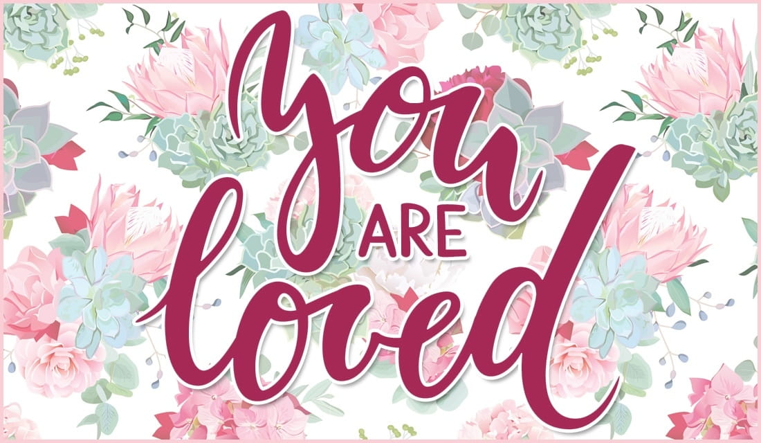 You Are Loved ecard, online card