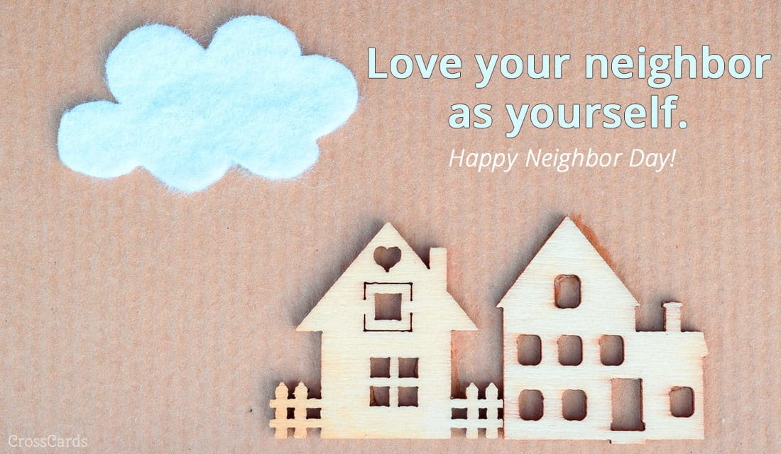 Happy Neighbor Day! (3/26) ecard, online card