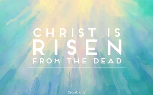April 2017 - Christ is Risen mobile phone wallpaper