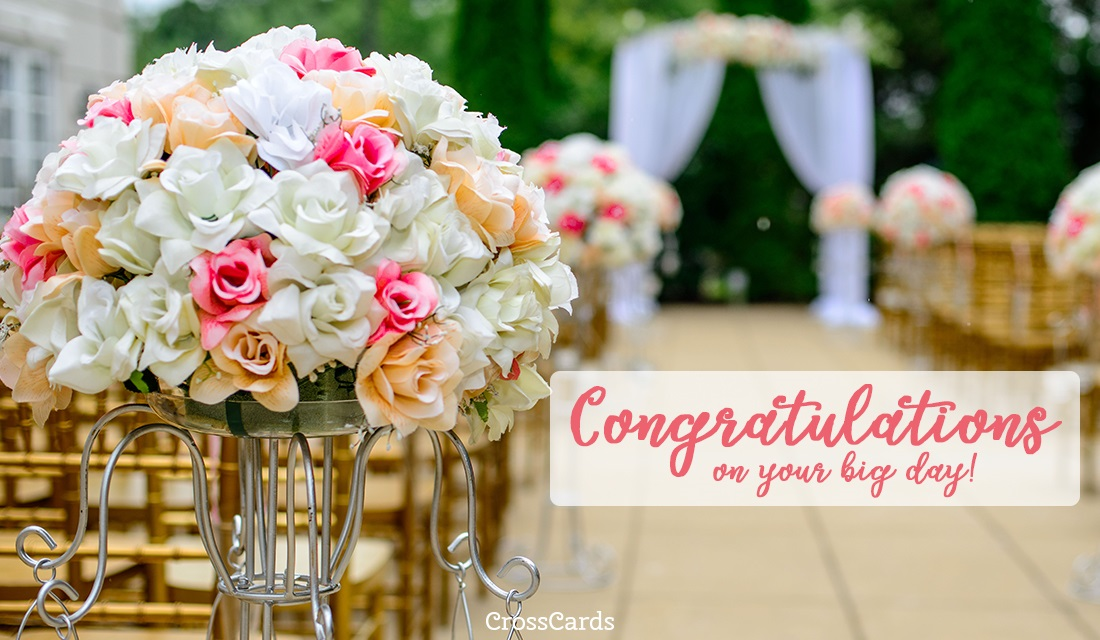 Congratulations on Your Big Day! ecard, online card