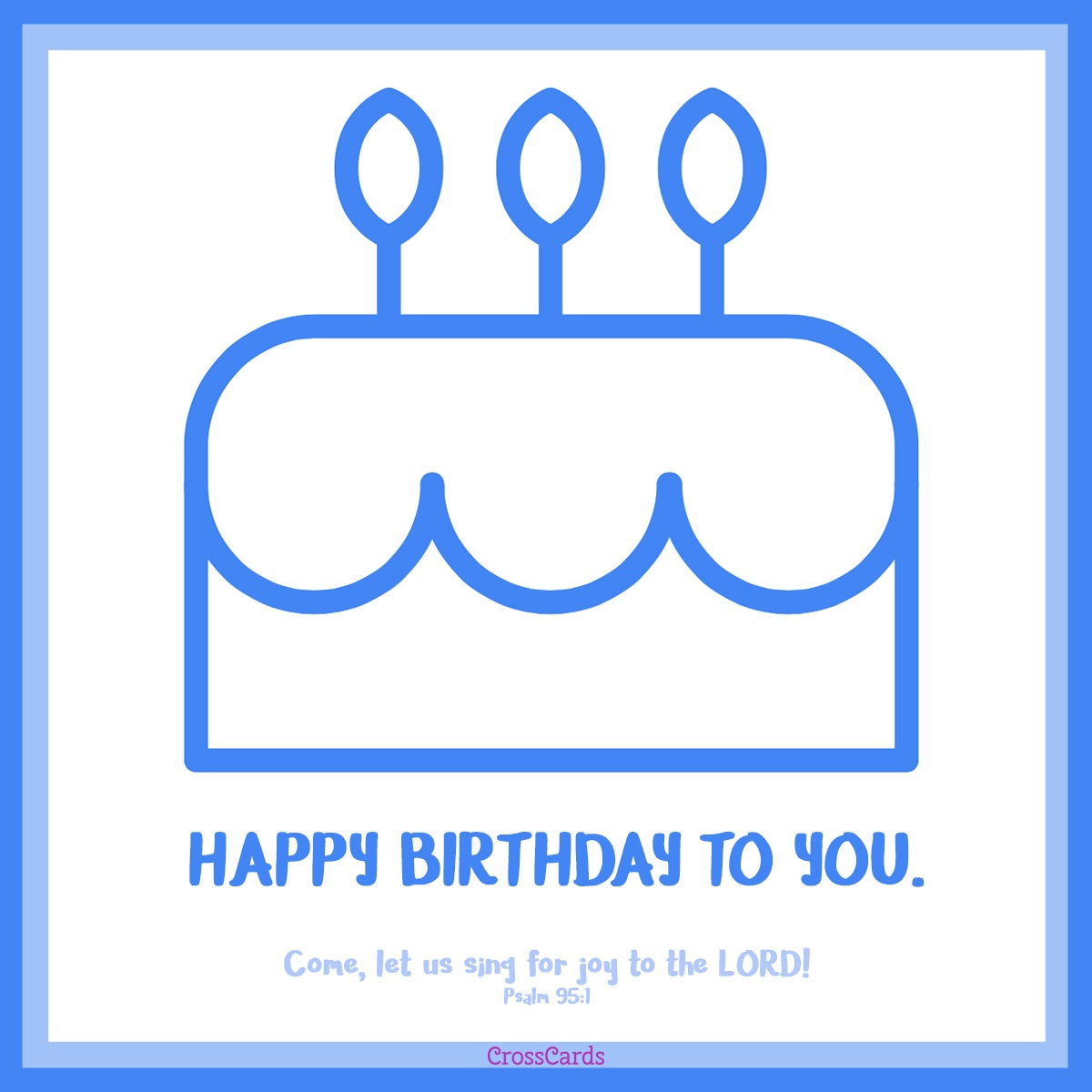 Happy Birthday to You! ecard, online card