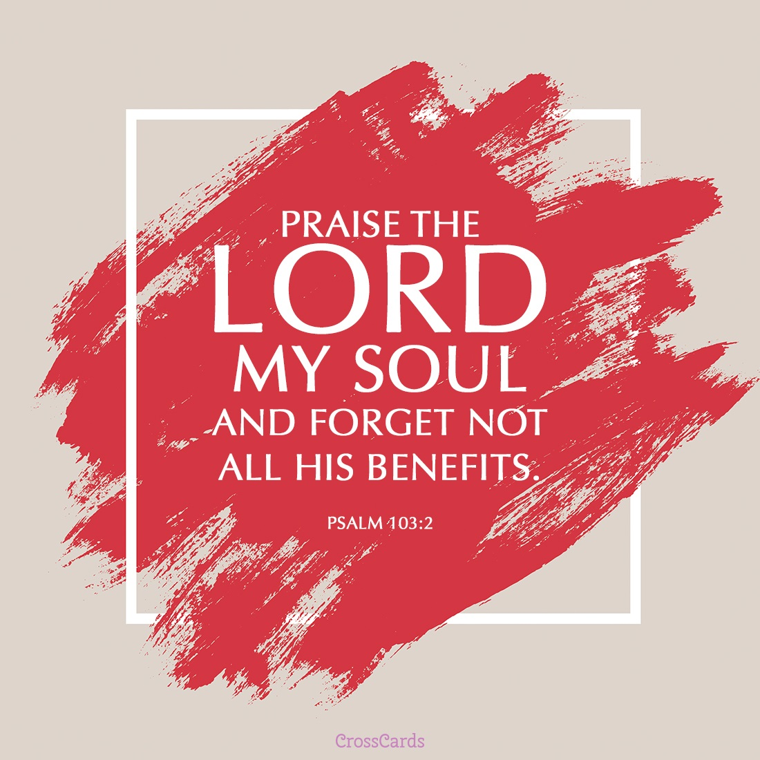 Psalm 103:2 ecard, online card