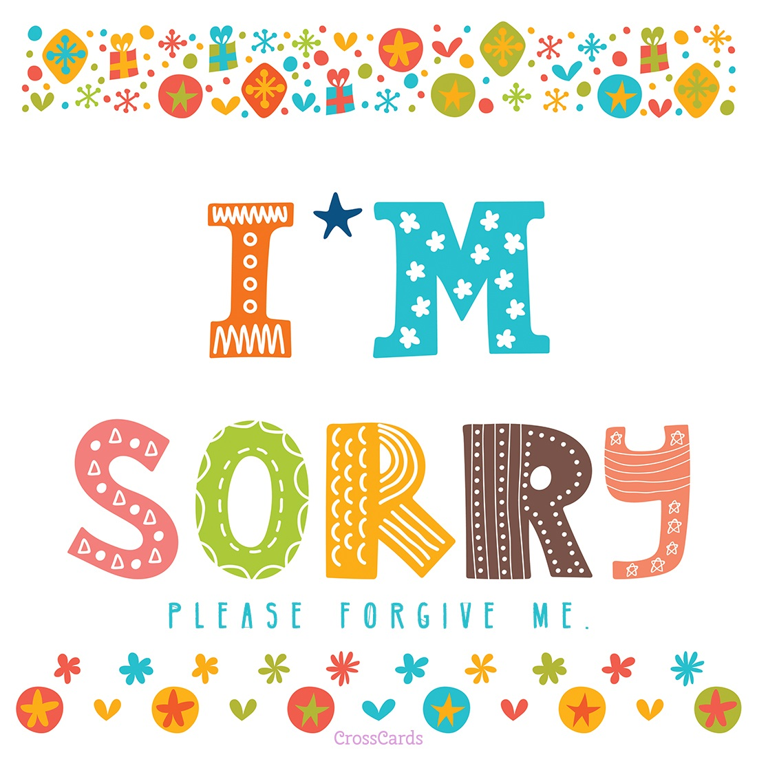 I'm Sorry - Forgive Me ecard, online card