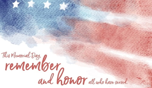 Memorial day ecards free cards to remember and honor remember and honor m4hsunfo