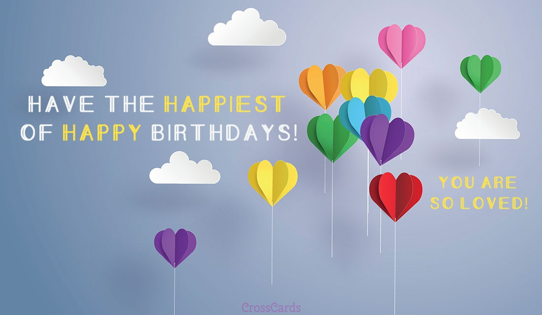 Have the Happiest Birthday! ecard, online card