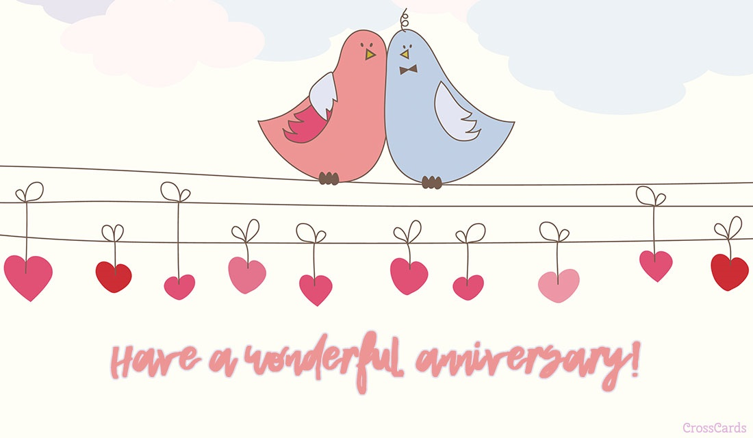 Have a Wonderful Anniversary! ecard, online card