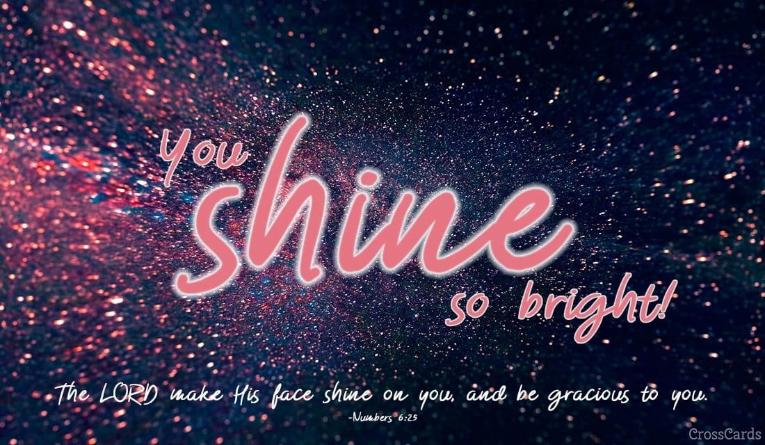 Shine! ecard, online card