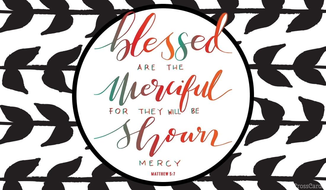 Matthew 5:7 ecard, online card