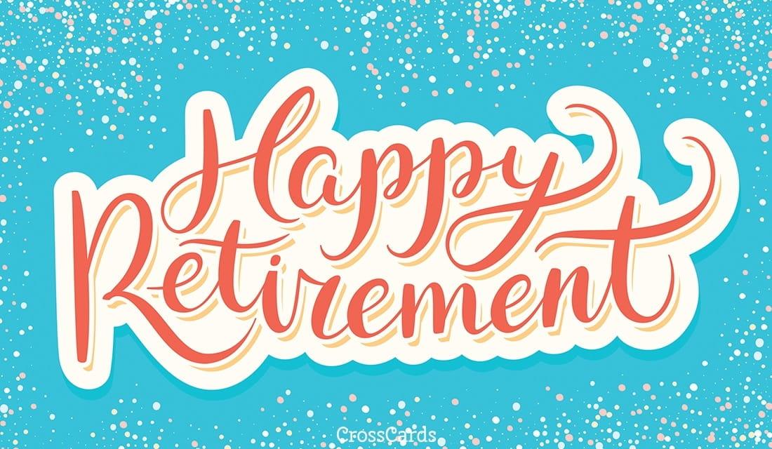 Happy Retirement! ecard, online card