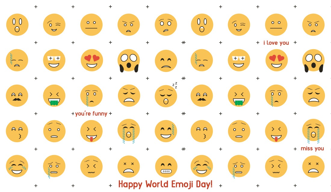 Happy World Emoji Day! (7/17) ecard, online card