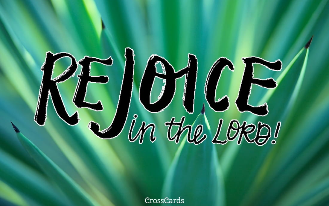 Rejoice in the Lord! ecard, online card