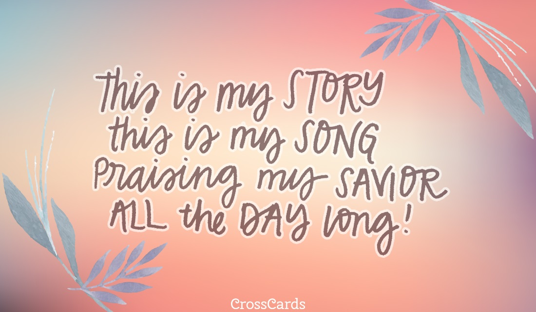 Story and Song ecard, online card