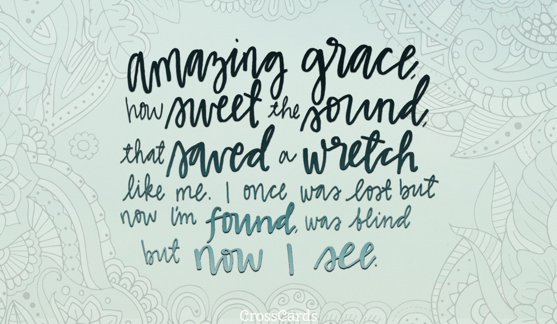 Amazing Grace ecard, online card