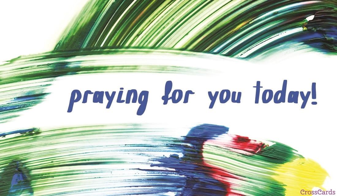 Praying Today ecard, online card