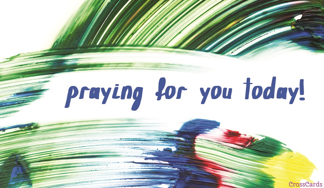 Praying Today ecard, online card