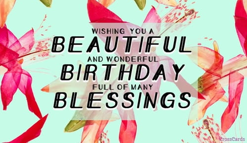 Birthday Blessing All Occasion Card | Society of the ...  |Birthday Blessings