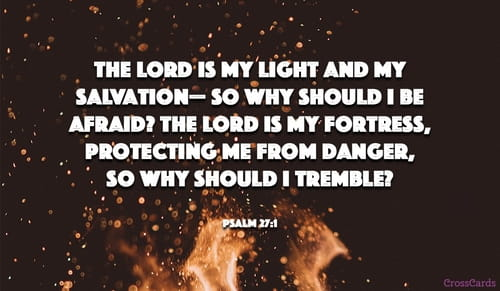 Psalm 27 - NIV Bible - The LORD is my light and my salvation