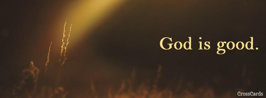 Download God is Good - Christian Facebook Cover & Banner