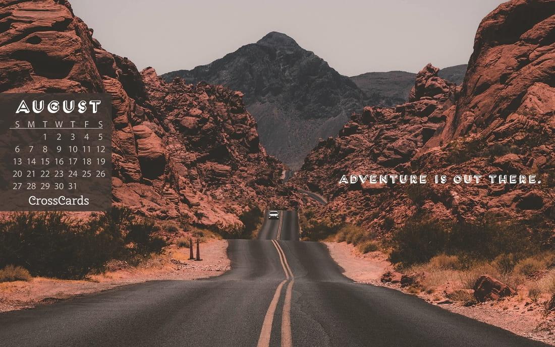 August 2017 - Adventure mobile phone wallpaper