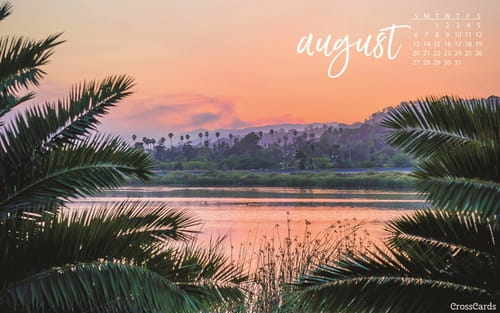 August 2017   Tropical Sunset