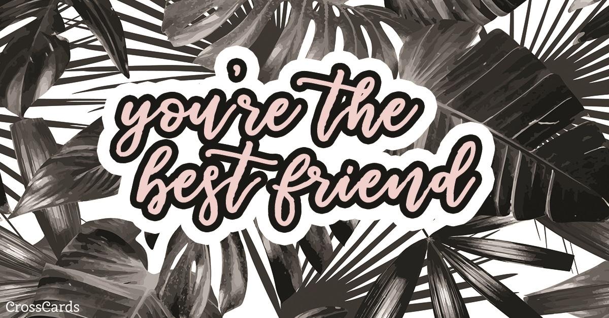 Best Friend ecard, online card