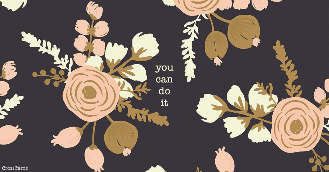 You Can Do It ecard, online card