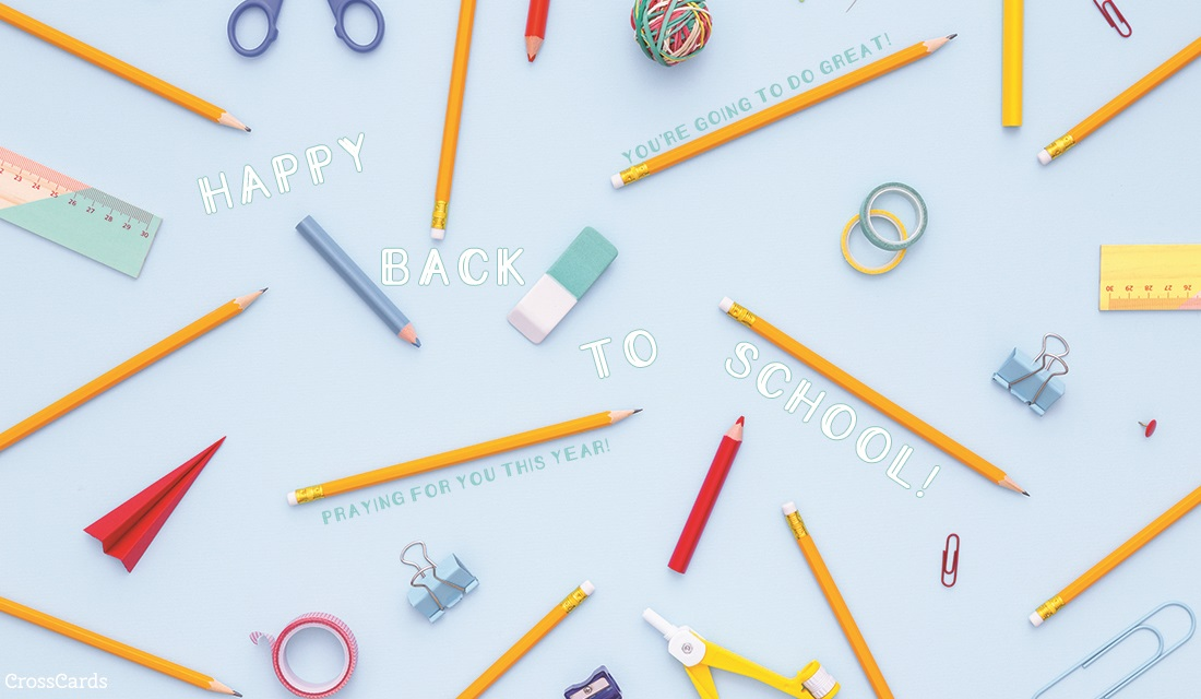 Happy Back to School! ecard, online card