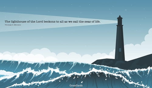 Happy Lighthouse Day! (8/7) ecard, online card