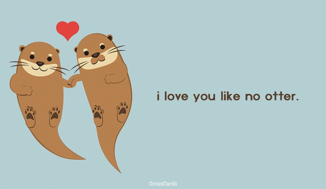 Free no otter ecard email free personalized animals - Crosscards free ecards ...