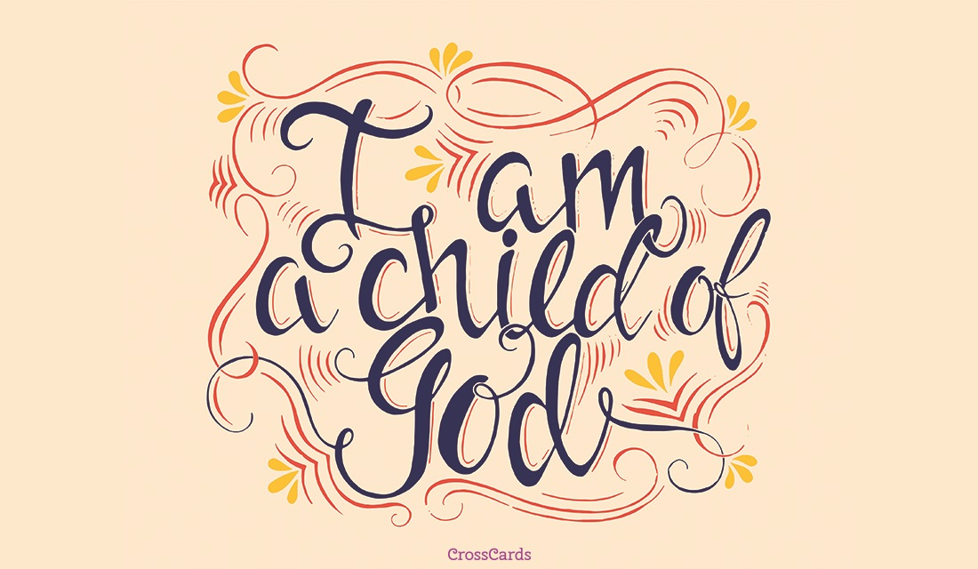 Child of God ecard, online card