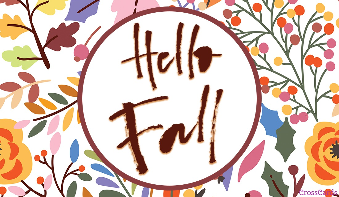 Hello Fall ecard, online card