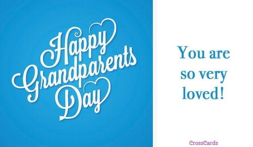 Happy Grandparents' Day (9/10) ecard, online card