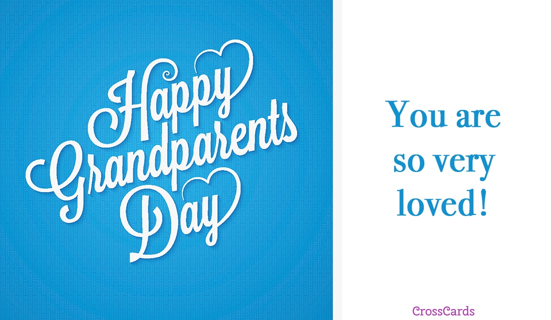 Happy Grandparents' Day (9/10) ecard, online card